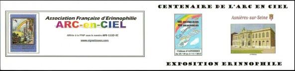 Carnet Expo - Couv. dépliée