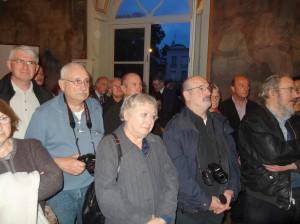 Les invités à l'Inauguration