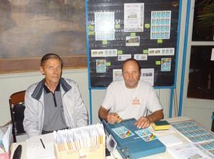 Le stand AFE-AEC avec Jean-Claude BAEHR et Pascal HOUE
