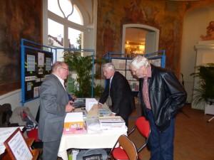 Le stand AFE-AEC avec Michel BEZARD